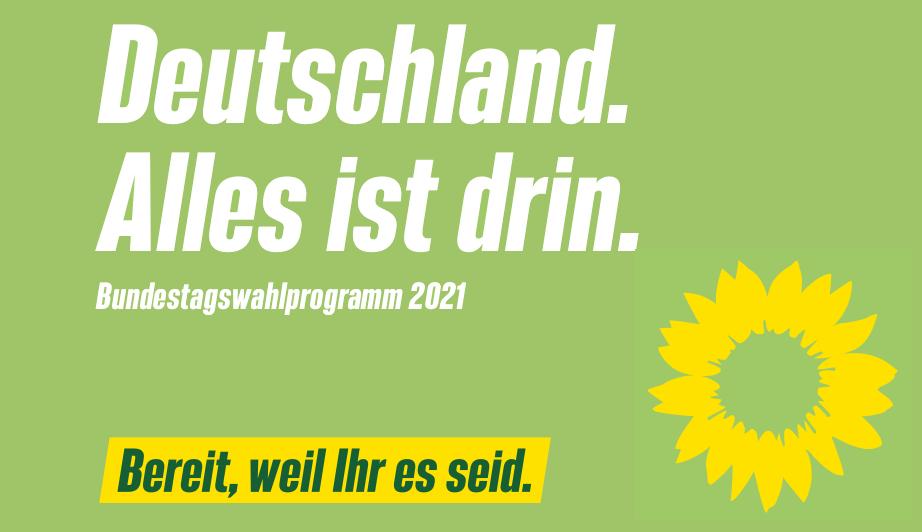 Wahlprogramm Bundestagswahl 2021
